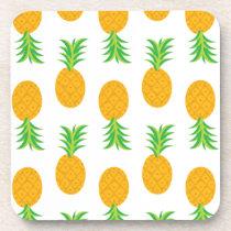 Fun Pineapple Pattern Coaster
