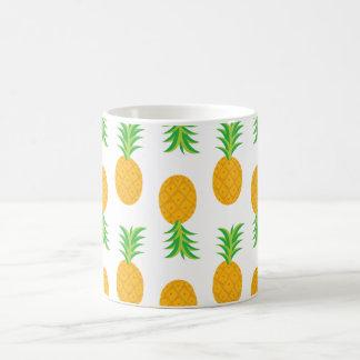 Fun Pineapple Pattern Coffee Mug