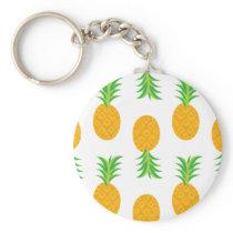 Fun Pineapple Pattern Keychain