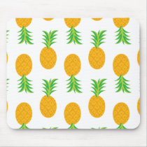 Fun Pineapple Pattern Mouse Pad