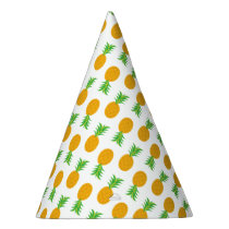 Fun Pineapple Pattern party hat