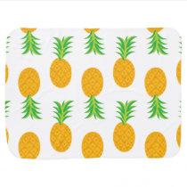 Fun Pineapple Pattern Receiving Blanket