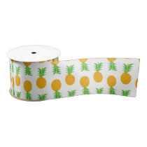 Fun Pineapple Pattern ribbon