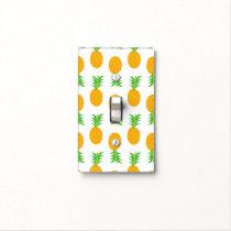 Fun Pineapple Pattern switch plate