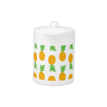 Fun Pineapple Pattern Teapot