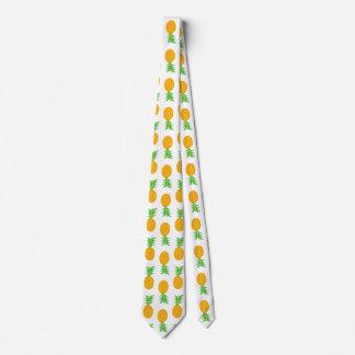 Fun pineapple Pattern Tie