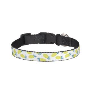 Fun Pineapples Pattern Pet Collar
