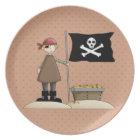 Fun Pirate Series 1 Kids Plate