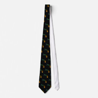 fun ~ playing koi neck tie