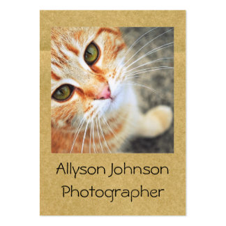 Fun Polaroid Style Your photo Business Cards