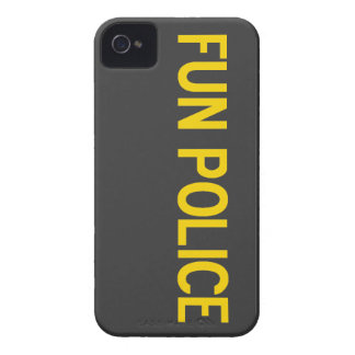 Fun Police Case-Mate iPhone 4 Barely There Case