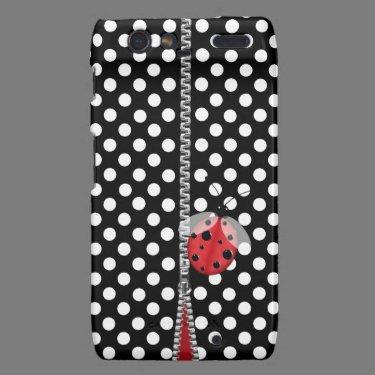 Fun Polka Dot & Ladybug Motorola Razr Case Motorola Droid RAZR Covers