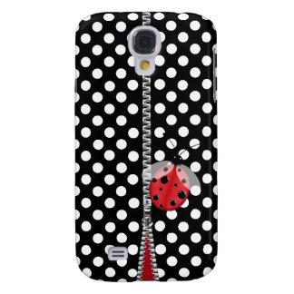 Fun Polka Dot & Ladybug Samsung S4 Case