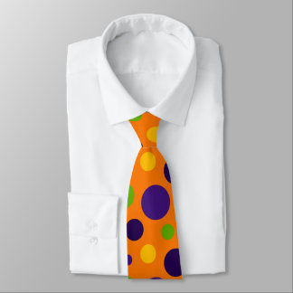 Fun polka dot pattern tie