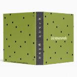 Fun! Polka Dots Notebook Avery Binder