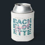 "Fun Pool and Tropical Bachelorette Squad Theme Can Cooler<br><div class=""desc"">This cute can cooler perfectly embodies the spirit of a destination bachelorette party! The fun pool typography and pink accents are trendy, fun and sets the right tone for a fun-filled weekend. Simply update this design with your party's location, date(s) and bride-to-be's name, and get ready to celebrate the bride's...</div>"