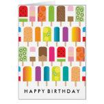 Fun Popsicle Birthday Card