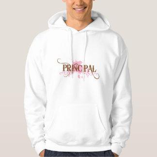 Fun Principal Grunge Gift Hoodie