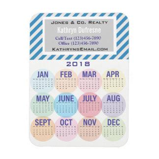 Fun & Professional Business 2018 Calendar Magnet