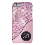 Fun Psychedelic Pink with a Splatter of Pink Dots iPhone 6 Case