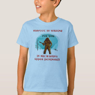 FUN PUN! BIGFOOT ~ YETI ~ SASQUATCH SHIRT DESIGN