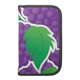 Fun Purple Grapes Fruit Design Organizer