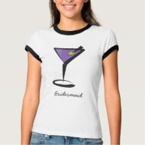 fun purple martini T-Shirt