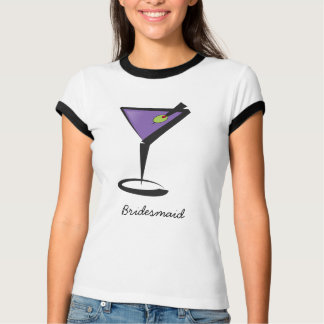 fun purple martini T-Shirt