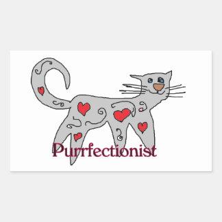 fun Purrfectionist Sticker
