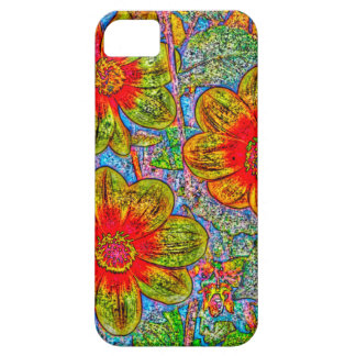 Fun quirky flower designed I phone 5s Barely there iPhone SE/5/5s Case