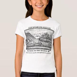 """Fun Railroad History"" T-Shirt"