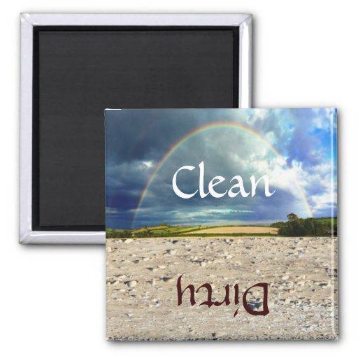 Fun Rainbow and Sand Dishwasher Magnet