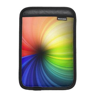 Fun Rainbow Art iPad Mini Sleeve