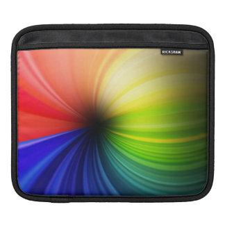 Fun Rainbow Art iPad Sleeves