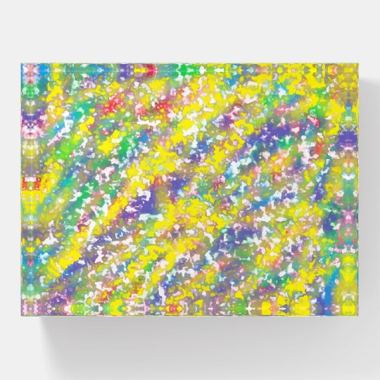 fun rainbow crayon colors paperweight zazzle com
