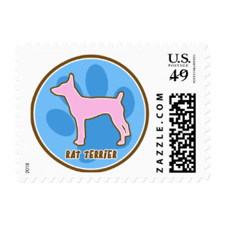 Fun Rat Terrier Gifts Postage