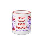 Fun Rawr Tiger Rawr Personalized Cat Art Mug