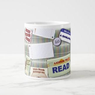 Fun Reading Collage Jumbo Mugs