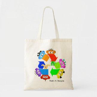 Fun Recycle Bag ... Do you....Peek-A-Recycle?