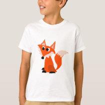 Fun Red Fox Original Art T-Shirt
