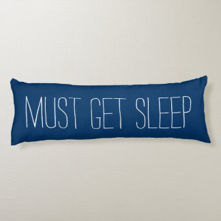 Fun & Relaxing Blue and White Must Get Sleep Body Pillow