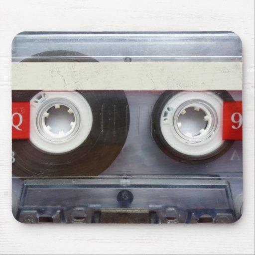 Fun Retro Cassette Tape Mouse Pads