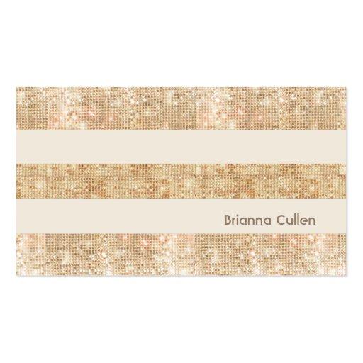 Business card shop fun retro gold faux sequin stripes modern business card templates colourmoves