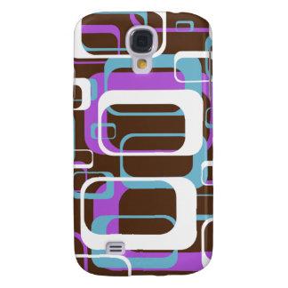 Fun Retro Purple 3G/3GS Samsung S4 Case