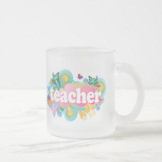 Fun Retro Teacher Mugs