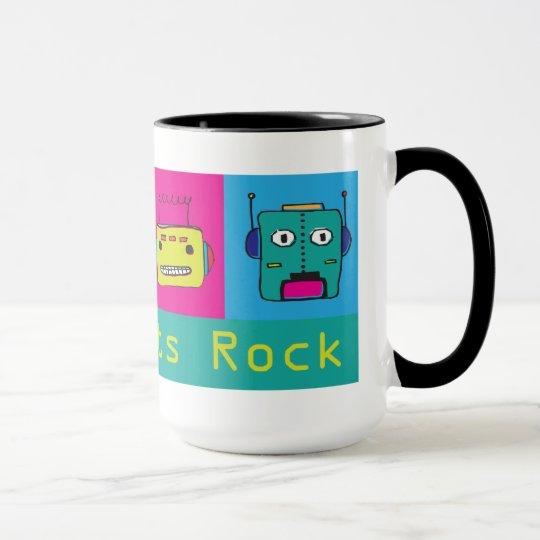 Fun Robot Mug - Adorkabots