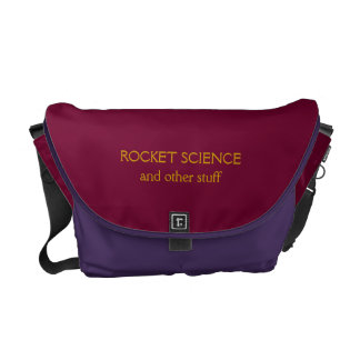 Fun ROCKET SCIENCE and other stuff MESSENGER BAG