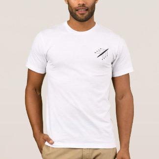 Fun Rowing Alphabet back T-Shirt