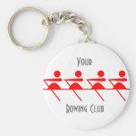 Fun Rowing club Keychain