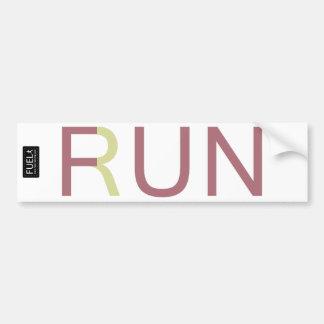Fun Run Bumper Sticker